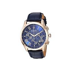Bulova Men's Wilton - 97B170 Blue One Size