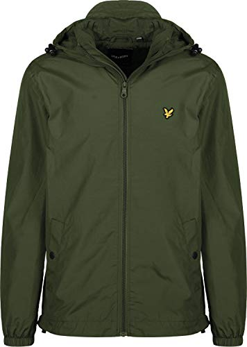 Verde Through Jacket Cappotto Uomo amp; Lyle Zip Scott Hooded nqgOv8xtTw