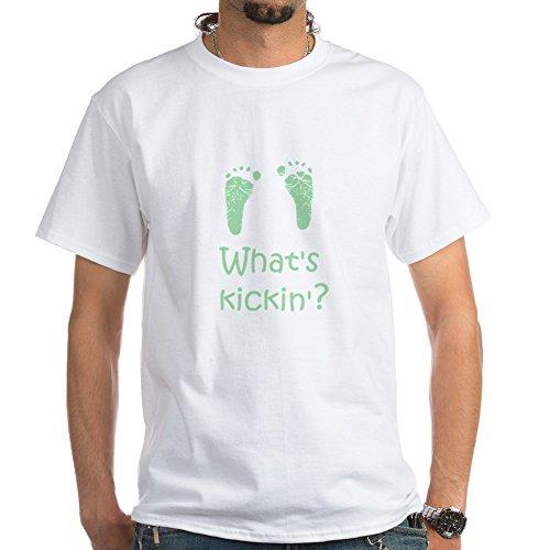 CafePress What's Kickin? White T-Shirt 100% Cotton T-Shirt, White