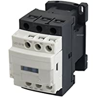 30A AC Contactor 3 Poles, Aux NO NC Coil 110/120 Volts, Lighting 32A, Motor 18A, 20A 3phase