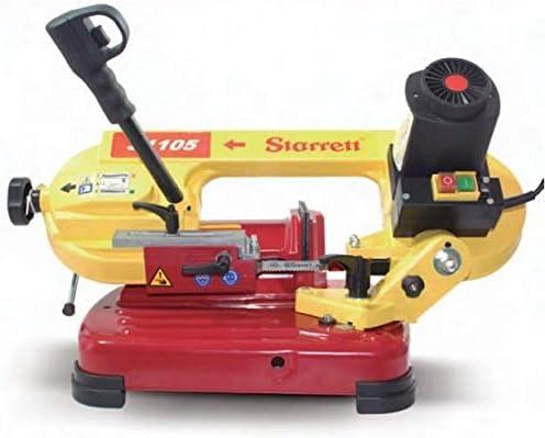 Amarillo Starrett ST-1105 M/áquina de sierra de cinta manual 850W
