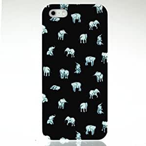 MOM Smart Indian Elephants Pattern Case for iPhone 5/5S