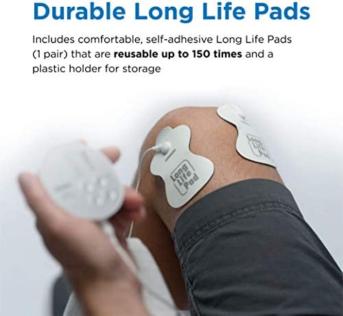 OMRON Pocket Pain Pro TENS Unit Muscle Stimulator, Simulated Massage Therapy for Lower Back, Arm, Foot, Shoulder and Arthritis Pain, Drug-Free Pain Relief (PM400) 418fixYJy L