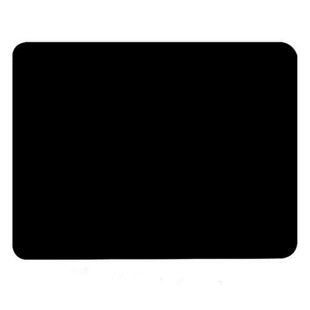 "Allscarf007 Black Silicone Student Table Mat, Food Grade Nonstick Heat Resistant Nonskid Pad, Countertop Protector, Large Baking Oven Counter Children Table Mat, 15.7"" 11.8"""