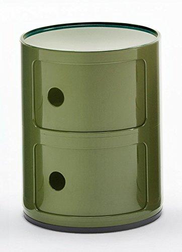 Kartell Contenitori Componibili.Kartell Componibile Contenitore Verde 32 X 32 X 40 Cm