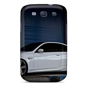 Durable Defender Cases For Galaxy S3 Tpu Covers(auto Bmw M White Bmw M)