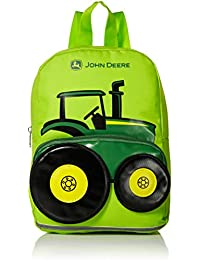 Boys' Little Kids Girls Toddler Backpack, LIME GREEN, One Size