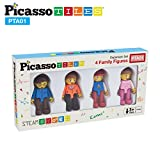 PicassoTiles Magnetic 4 Family Action Figures