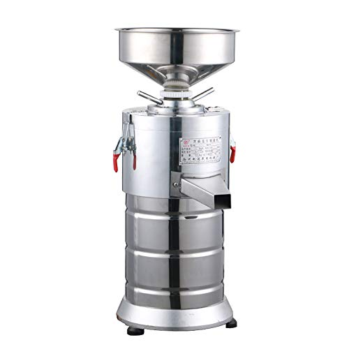 er Maker Machine, Commercial Electric Grain Grinder Mill Spice Herb Cereal Mill Grinder Flour Mill Pulverizer, Heavy Duty Steel Construction ()