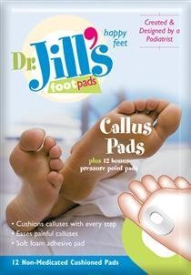 Jills Foam Callus Adhesive Backed