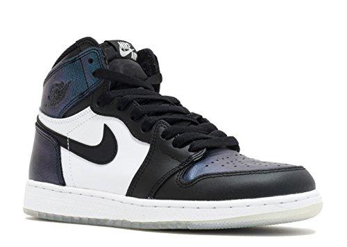 Nike Air Jordan 1 Retro High OG ALL-STAR CHAMELEON' Black Metallic Silver