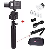 Zhiyun Rider M wearable (with extra batteries ,carry bag and Extension pole)3-Axis gimbal action camera stabilizer for GoPro Hero 5/4/3+/3 ,Yi Cam 4K ,AEE and action cameras of similar size