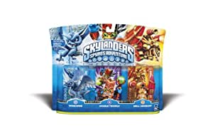 Skylanders Spyro Adventure Triple Character Pack (Whirlwind, Double Trouble, Drill Sergeant)