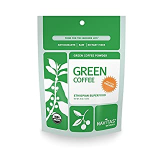 Organic Green Coffee Powder by Navitas Naturals, 4 oz