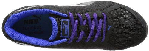 Puma Descendant Wn's - Zapatillas de correr de material sintético mujer negro - Schwarz (black-aged silver-dazzling blue 03)