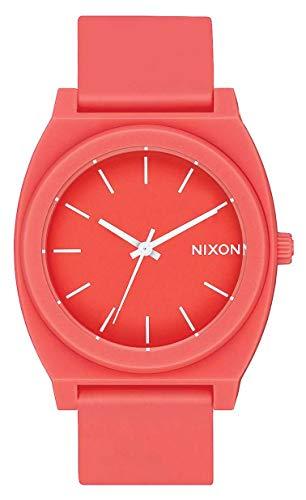 Nixon Time Teller P Watch - Matte Coral