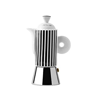 Amazon.com: Ancap Darling negro blanco 2 taza Moka Pot ...