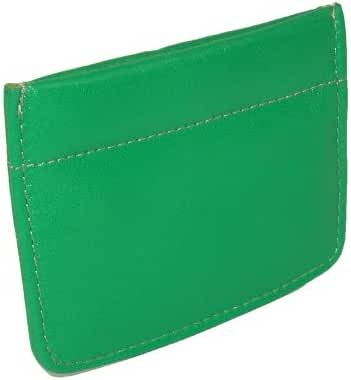 Winn Napa Leather Facile Frame Coin Purse. Black, Blue, Gold, Green, Purple & Red