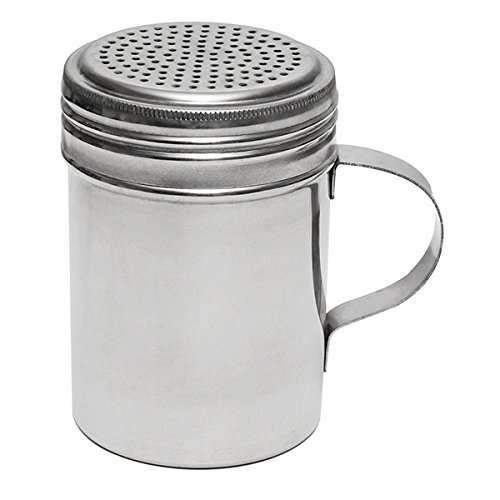 Libertyware 4-Inch Stainless Steel Flour and Spice Shaker With Handle 3241-B