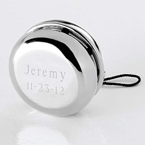 Personalized Silver Yo-Yo Free Engraving