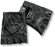 Interstate Leather Men's Basic Fingerless Gl