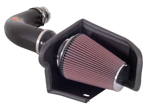 K&N Performance Cold Air Intake Kit 57-2541 with Lifetime Filter for 1997-2004 Ford F150/Expedition, Licoln Navigator 4.6L/5.4L V8 (2001 Ford F150 Intake compare prices)