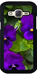 Funda para Samsung Galaxy J5 - Flores De Color Púrpura by loki1982