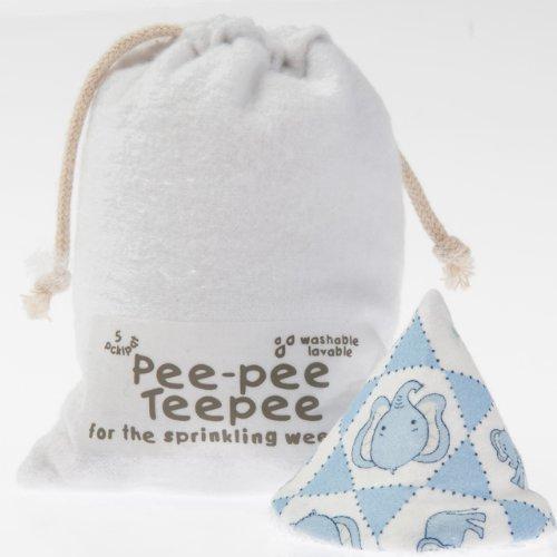 Pee-pee Teepee Elephant Blue - Laundry Bag