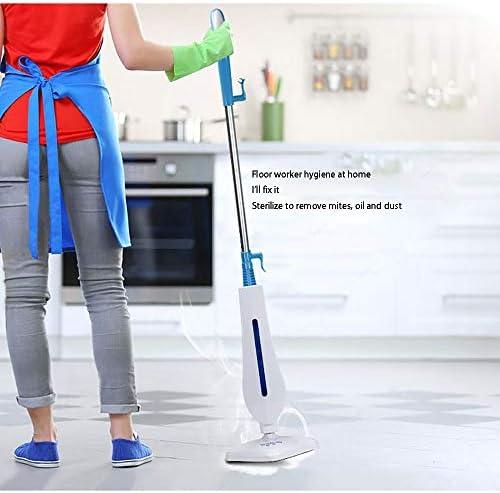 MMFXUE Nettoyeur à Vapeur Multifonction pour Plancher/Tapis 1300W Portable et Vertical, nettoyeurs à Vapeur pour sols durs, nettoyeurs à Vapeur Multifonctions pour la Maison