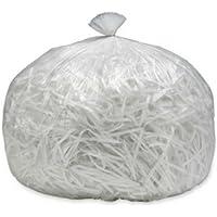 Skilcraft Shredder Bags,0.80 mil, 39 Gallon,36x39,50 Bags/BX,CL 3994793