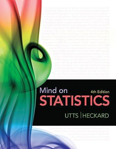 amazon com bundle mind on statistics 4th student solutions rh amazon com Statistics Homework Help Finance Solutions