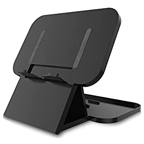Nintendo Switch Stand Compact Playstand, JOTO Foldable Multi Angle Holder Play Stand for Nintendo Switch 2017 -Black