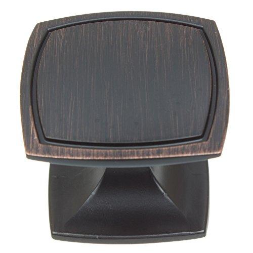 GlideRite Hardware 901412-ORB-100 Square Cabinet Knobs, 100 Pack, 1.5'', Oil Rubbed Bronze by GlideRite Hardware (Image #5)
