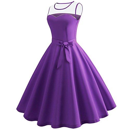 De 1 Africaine Honghu Femmes Robe Maxi Robes Violet Manches Robe Robe sans Boho Longues Irrgulire Fte 7xFqax