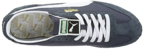 Puma Puma SF77 - Caña baja de cuero hombre gris - Grau (turbulence-white 13)