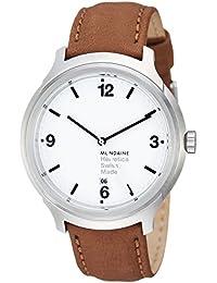 Unisex MH1.B1210.LG Helvetica No1 Bold Analog Quartz Brown Watch
