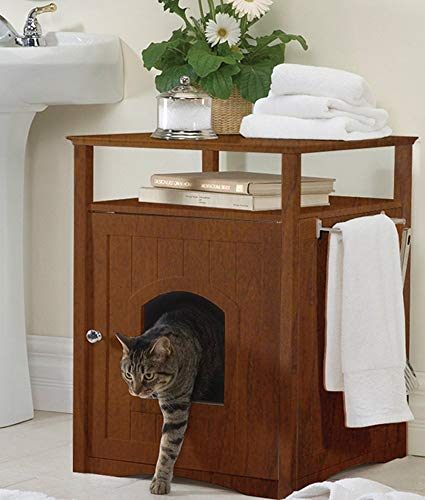 Spring Valley Cat Side Table.The 25 Best Litter Box Furniture Of 2019 Cat Life Today
