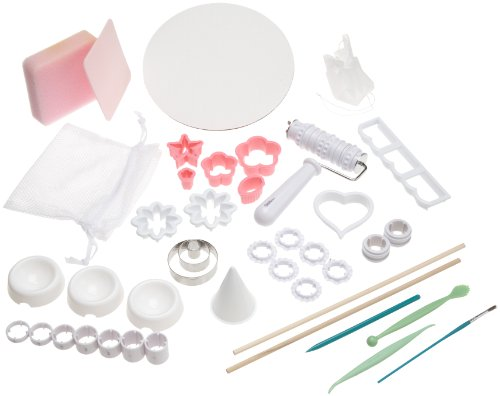 Wilton Gum Paste and Fondant Student Kit- Discontinued By - Wilton Ribbon Cutter