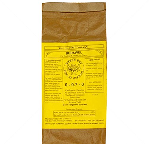 2 lbs Dry Budswell fertilizer ()