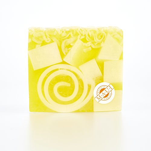 Glycerine Soap Slice - Moku Pua Artisan Glycerin Soap, Pineapple Slices, 4.50oz