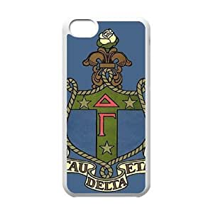 Delta Gamma iPhone 5c Cell Phone Case White Exquisite gift (SA_512063)