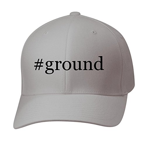 BH Cool Designs #Ground - Baseball Hat Cap Adult, Silver, - Fedex Ground Hats