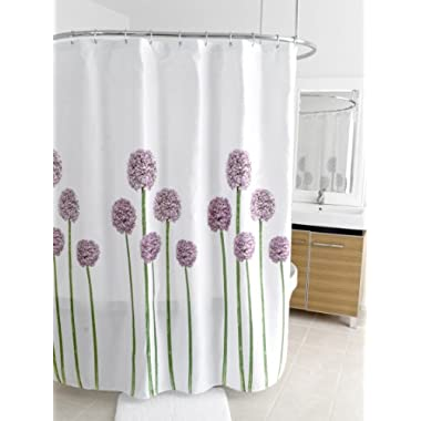 Splash Home Shower Curtain, 70 by 72-Inch, Allium