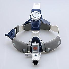Superdental 5W LED Headlight Wireless Lamp Head Light 80000lx Medical Surgical ENT