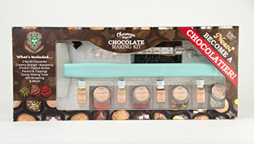 Charmeur Deluxe Dark Chocolate Assorted Gourmet Candy Making Kit