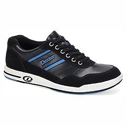 Dexter Mens David Bowling Shoes- Right Hand (9 M US, Black/Blue)