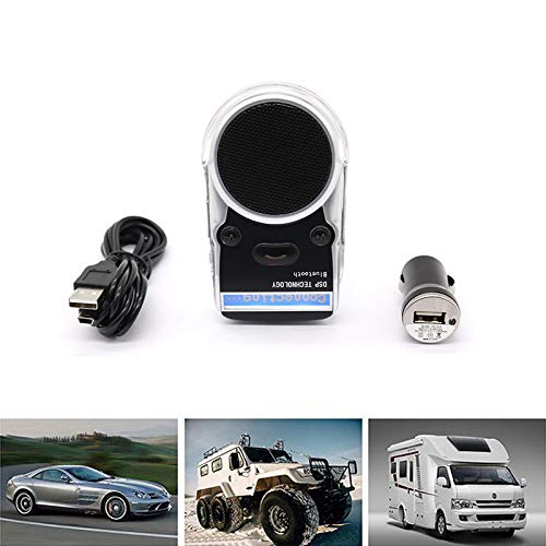 EDTara Solar Bluetooth Hands-Free Car Kit G3 Handsfree Call Device LCD English Display Bluetooth Speaker Wireless Car Kit
