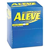 Aleve Pain Reliever Tablets, 50 Packs/Box