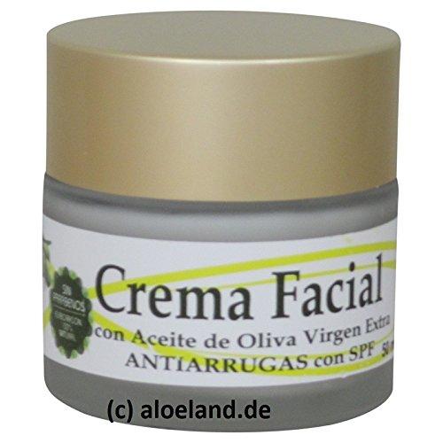 Crema Facial Antiarrugas Aceite de Oliva, 50 ml - Cosmetica Olivo Aove