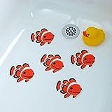 SlipX Solutions Adhesive Bath Treads: Tub Tattoos